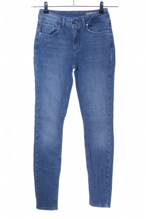 Vero Moda High-Waist Hose blau Casual-Look