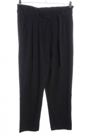 Vero Moda High-Waist Hose schwarz Business-Look