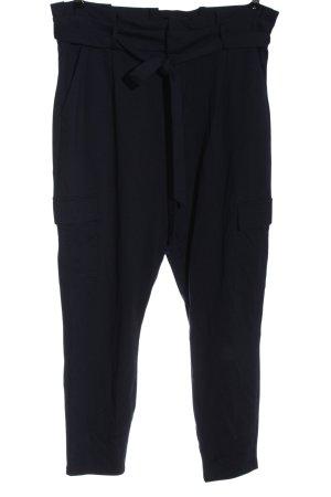 Vero Moda Pantalón de cintura alta azul look casual