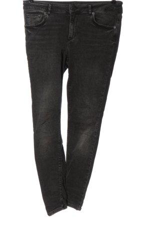Vero Moda High Waist Jeans hellgrau Casual-Look