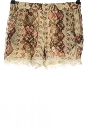 Vero Moda Shorts grafisches Muster Casual-Look