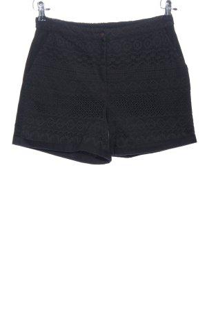 Vero Moda High-Waist-Shorts blau Casual-Look