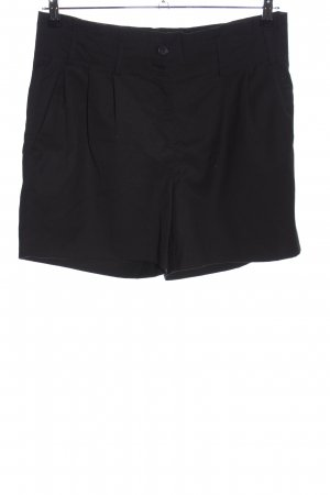 Vero Moda High-Waist-Shorts schwarz Business-Look