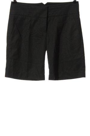 Vero Moda High-Waist-Shorts schwarz Business-Look