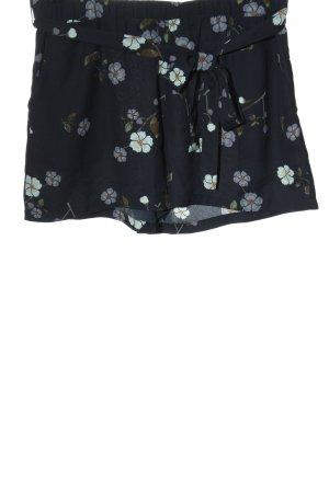 Vero Moda High-Waist-Shorts Allover-Druck Casual-Look