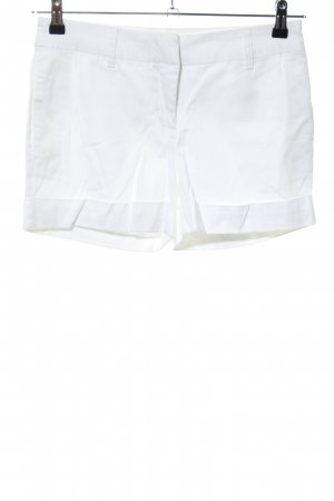 Vero Moda High-Waist-Shorts weiß Casual-Look