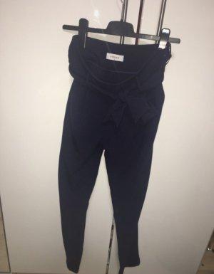 Vero Moda High Waist Stoffhose mit Bandgürtel