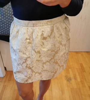 Vero Moda Highwaist Mini Rock Gold Größe 40