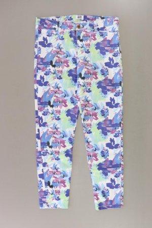 Vero Moda Hose Größe M mit Blumenmuster blau