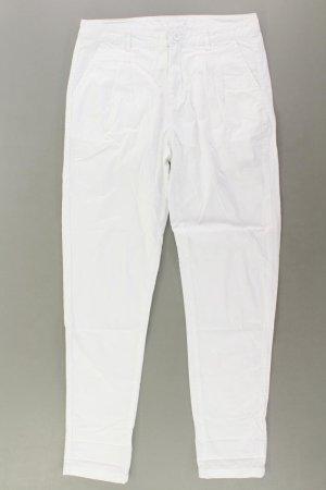 Vero Moda Trousers natural white cotton