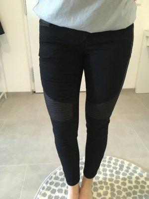 Vero Moda Hose Jeans schwarz blau xs w25 Röhrenhose