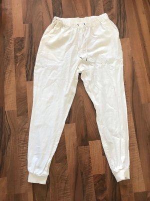 Vero Moda Pantalón estilo Harem blanco-blanco puro Lino