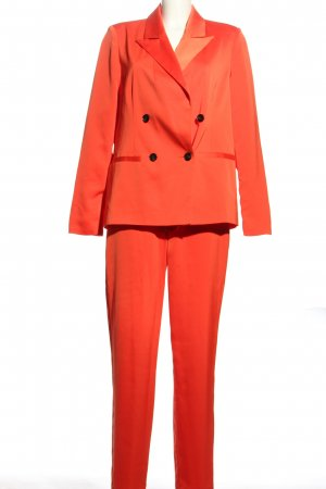 Vero Moda Tailleur-pantalon orange clair style d'affaires