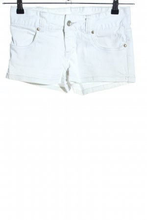 Vero Moda Hot Pants weiß Casual-Look