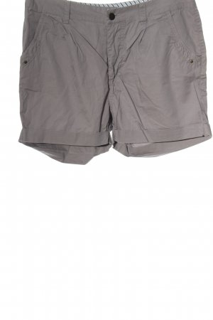 Vero Moda Hot Pants hellgrau Casual-Look