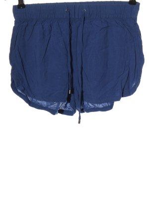 Vero Moda Hot pants blauw casual uitstraling