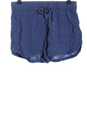 Vero Moda Hot Pants blau Casual-Look