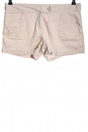Vero Moda Hot Pants creme-pink Punktemuster Casual-Look