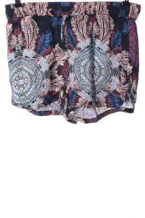 Vero Moda Hot Pants abstraktes Muster Casual-Look
