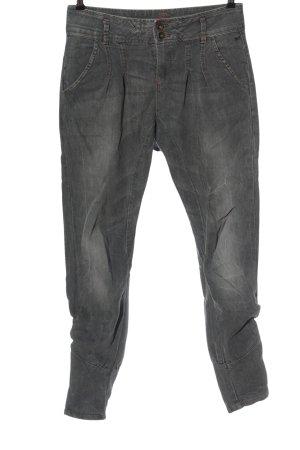 Vero Moda Low-Rise Trousers light grey casual look