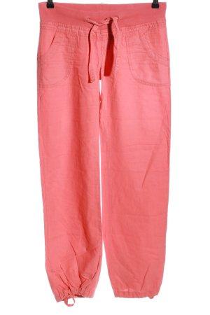Vero Moda Hüfthose pink Casual-Look