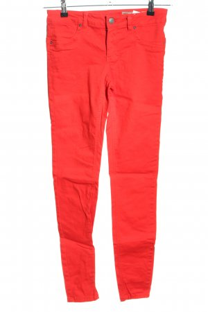 Vero Moda Low Rise Jeans red casual look