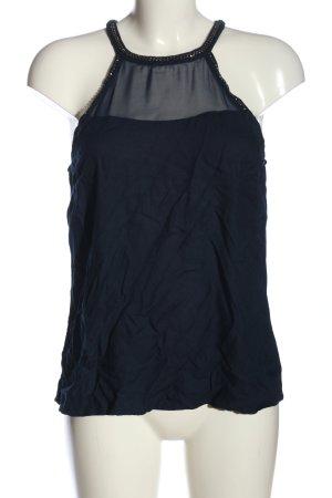 Vero Moda in Blue ärmellose Bluse