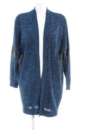 Vero Moda in Blue Cardigan blau-schwarz meliert Casual-Look