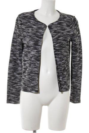 Vero Moda in Blue Cardigan schwarz-weiß meliert Business-Look