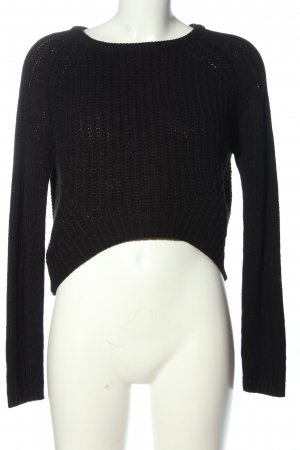 Vero Moda in Blue Crochet Sweater black casual look
