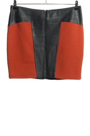 Vero Moda in Blue Minirock schwarz-rot Streifenmuster Casual-Look
