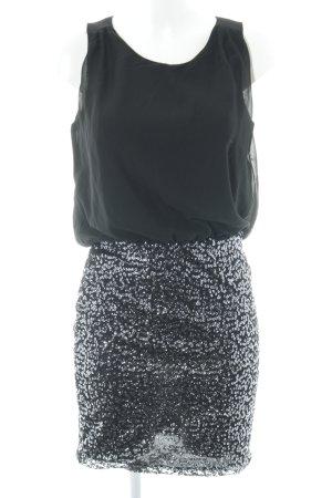 Vero Moda in Blue Pailettenkleid schwarz-silberfarben Party-Look