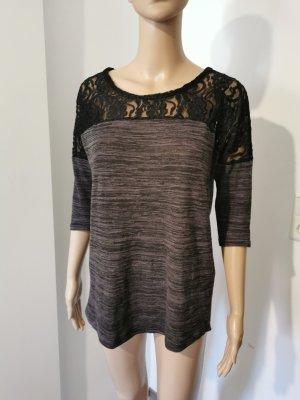 Vero Moda Shirt Tunic black-dark grey