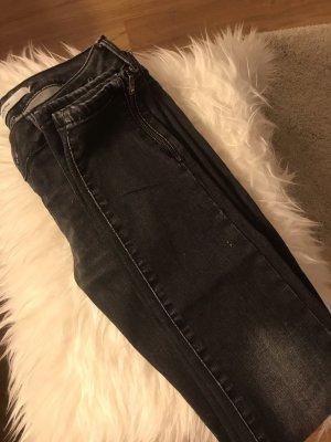 Vero Moda Jeans vita bassa nero