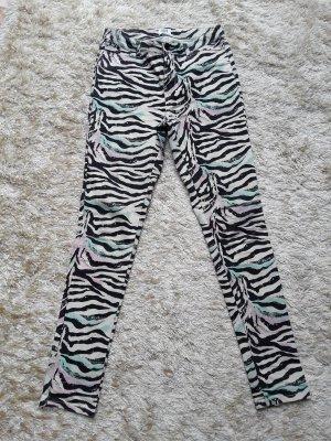 Vero Moda Pantalone a vita bassa multicolore Cotone