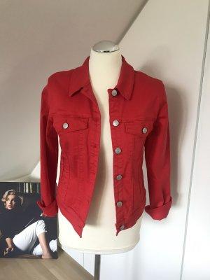 Vero Moda Jeans Jacke rot Größe 38 neu