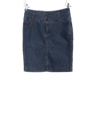 vero moda jeans Spijkerrok blauw casual uitstraling