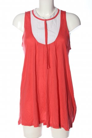 vero moda jeans Long Top red-white casual look