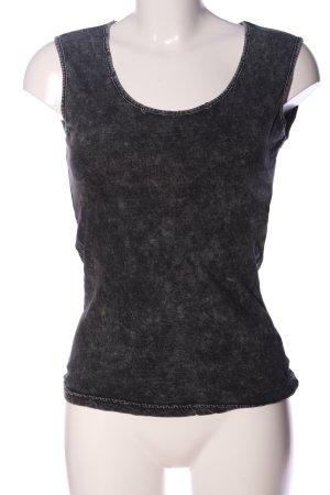 Vero Moda Schlupf-Bluse hellgrau Casual-Look