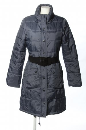 vero moda jeans Quilted Coat blue quilting pattern casual look