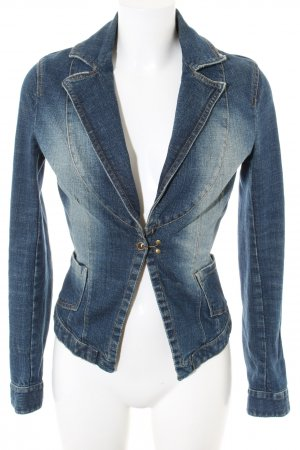 Vero Moda Jeansblazer blau Casual-Look