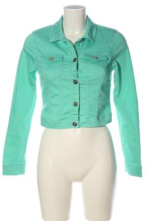 Vero Moda Blazer in jeans turchese stile casual