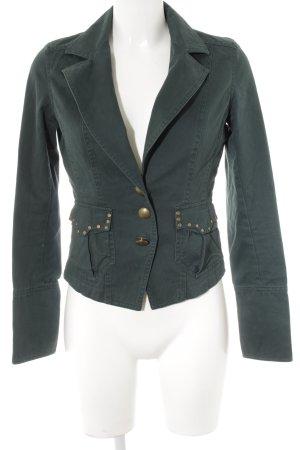 Vero Moda Jeansblazer waldgrün Casual-Look