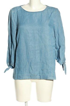 Vero Moda Jeansbluse blau Casual-Look