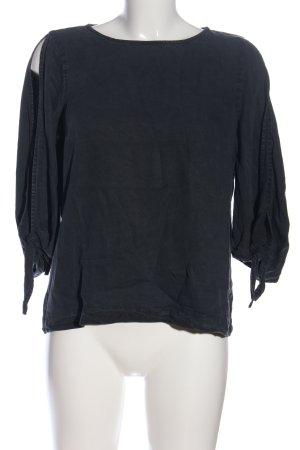 Vero Moda Blusa denim nero stile casual