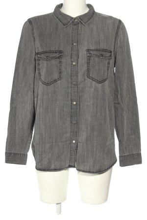 Vero Moda Camicia denim grigio chiaro stile casual