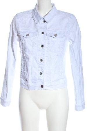 Vero Moda Denim Jacket white casual look