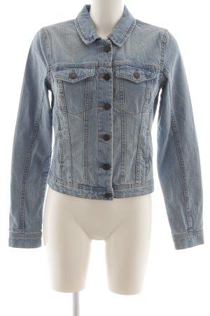 Vero Moda Jeansjacke blau meliert Casual-Look
