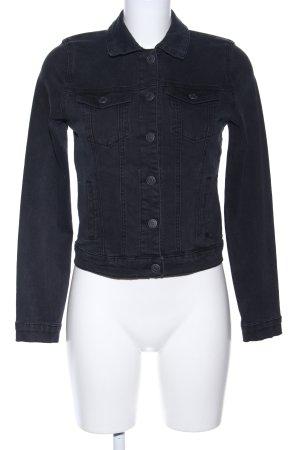 Vero Moda Jeansjacke schwarz Casual-Look