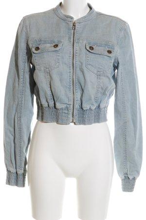 Vero Moda Jeansjacke blau Casual-Look